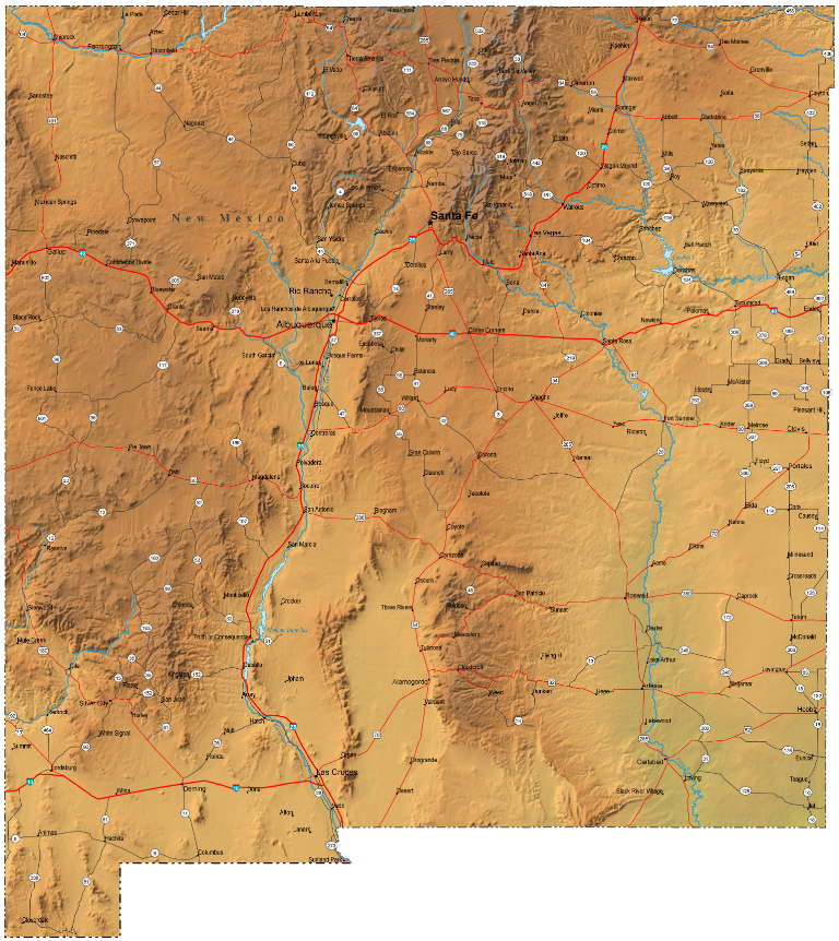 new-mexico-map.d